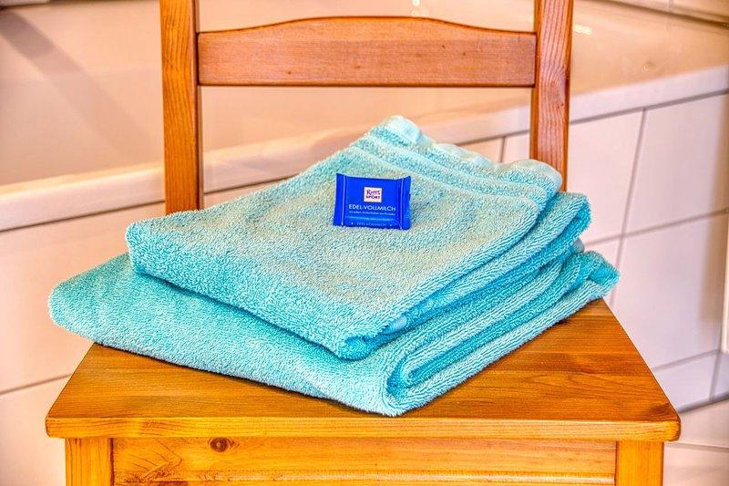 Fluffy towels Ferienwohnung Elisabeth Günthner Bondorf