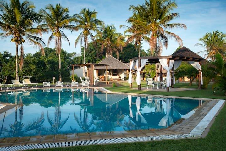 Paradisíaca Casa na Praia do Espelho - BAH002, holiday rental in Praia do Espelho