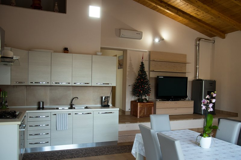Amazing apartment with shared pool, vacation rental in Pontelatone