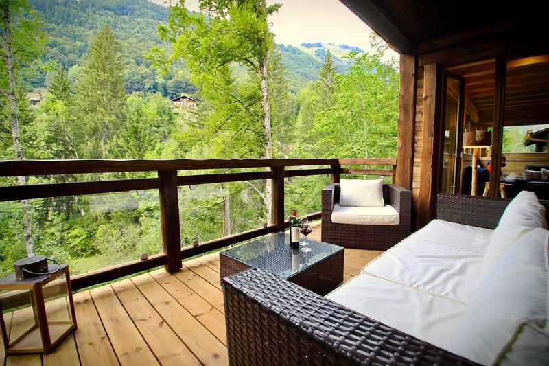 Jack & Jill - Forest Lodge, alquiler vacacional en Montriond