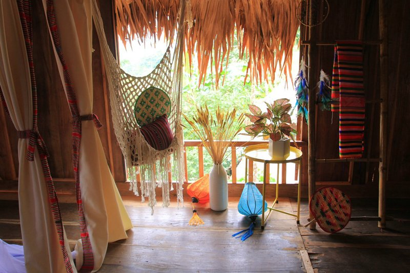 PU LUONG FRIENDLY HOMESTAY: 15 Bed Dormitory For Groups, casa vacanza a Thanh Lam
