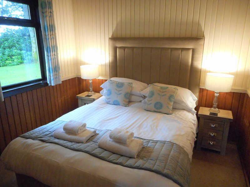 Birch Plus Lodge 17 with Hot Tub, Newton Stewart, Dumfries & Galloway, vacation rental in Newton Stewart