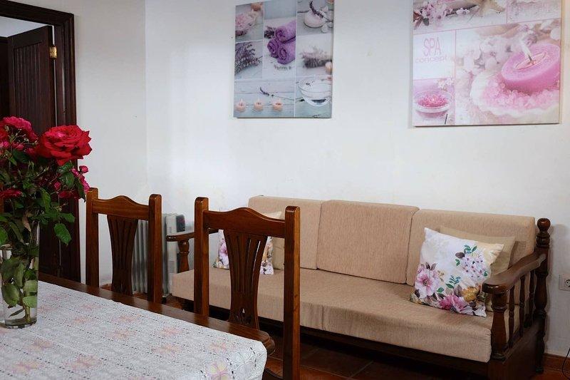 Beautiful apartment with terrace, holiday rental in Caleta de Interian