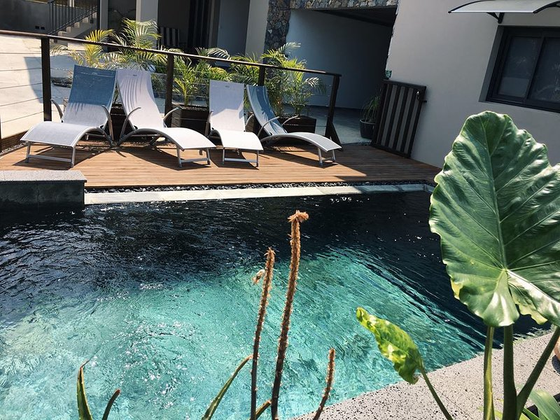 Amazing apt with shared pool & Wifi, vacation rental in Petite-Ile