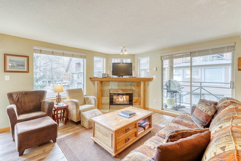 Welcome to your cozy condo in Whistler!