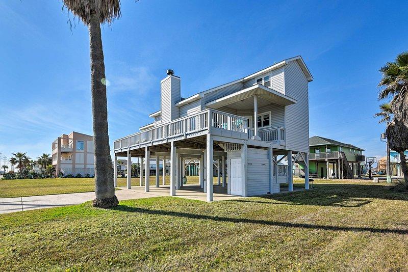 Questo ritiro sull'isola di Galveston è il modo perfetto per godersi la terapia dell'oceano!