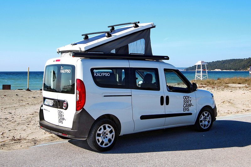 CALYPSO Fiat Doblo Micro Camper, location de vacances à Thessalonique