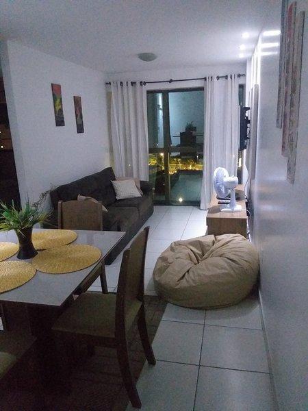 Dois quartos na praia de Pajuçara, alquiler vacacional en Maceio