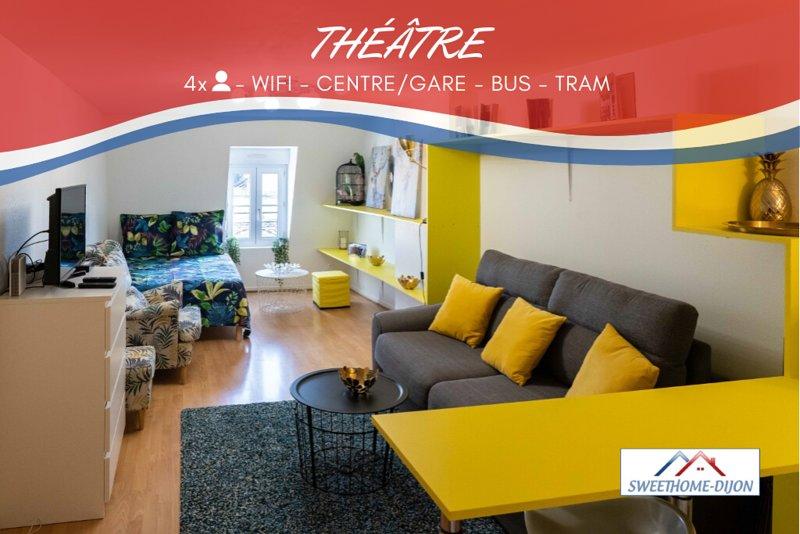 ❤️SWEETHOME DIJON - THEATRE❤️ ⭐⭐⭐⭐⭐, holiday rental in Saint-Apollinaire