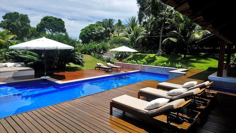 Paradisíaca Casa de Praia em Trancoso -BAH008 – semesterbostad i Trancoso