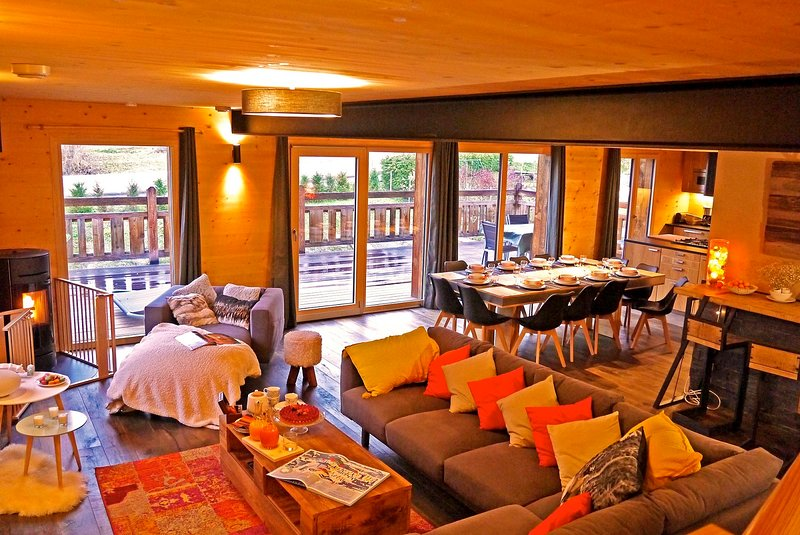 Chalet KAWA, holiday rental in Meribel