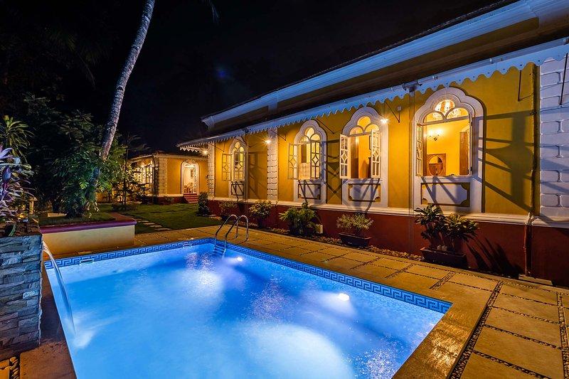 Casa Vita by Vista Rooms, holiday rental in Bogmalo