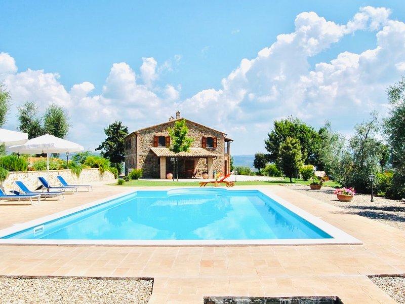 VILLA SOLARIA ORVIETO Casa Vacanza Orvieto/ Lago di Bolsena, location de vacances à Orvieto