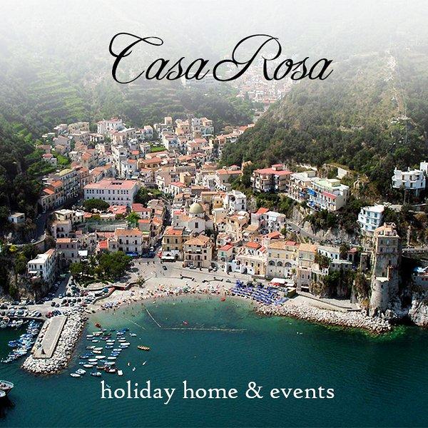 'Casa Rosa' Graziosa casa con giardino,a 300 mt. dal mare., vacation rental in Cetara