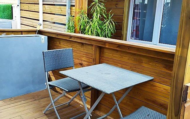 Nice studio with garden & Wifi, casa vacanza a La Possession