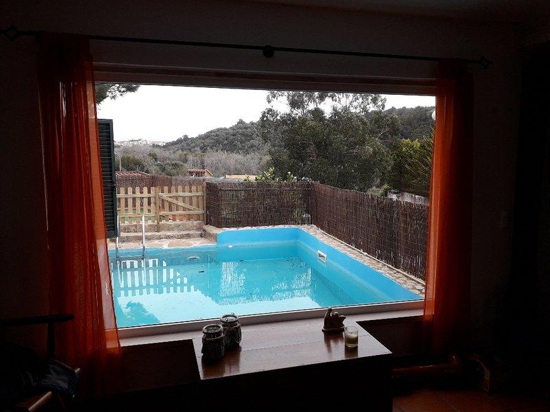 Casa Rústica c/ vista para Serra de Sintra e c/Piscina, location de vacances à Sintra