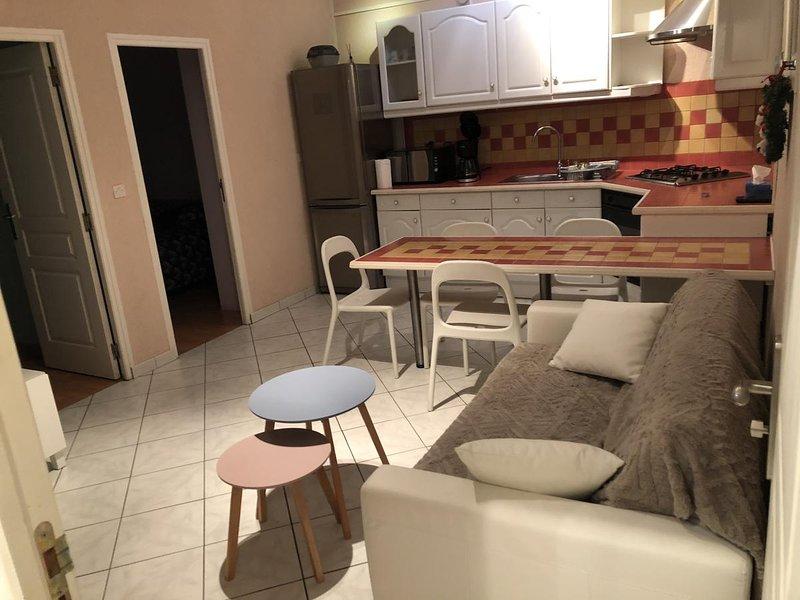 Nice apartment with terrace & Wifi, location de vacances à Ault