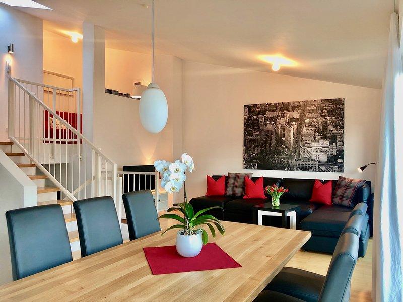 Lifestyle Ferienhaus Panorama Lounge, aluguéis de temporada em Fugen