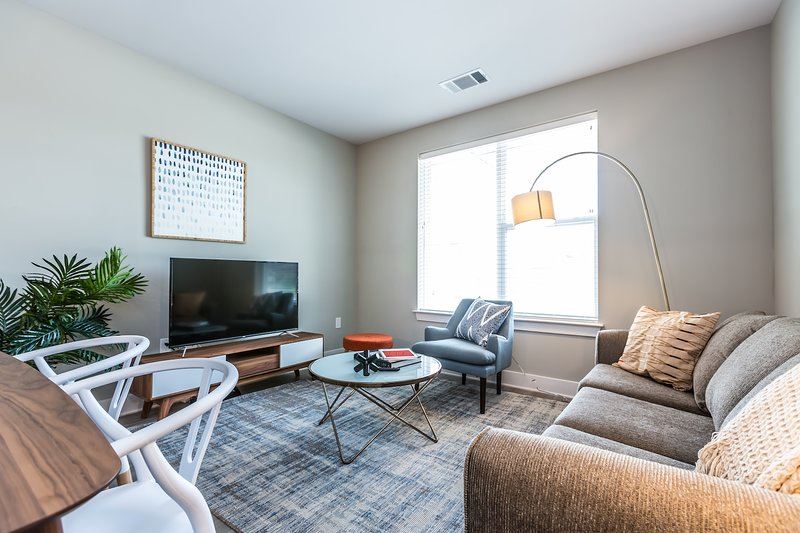 Kasa | King of Prussia | Sleek 1BD/1BA Apartment, location de vacances à King of Prussia