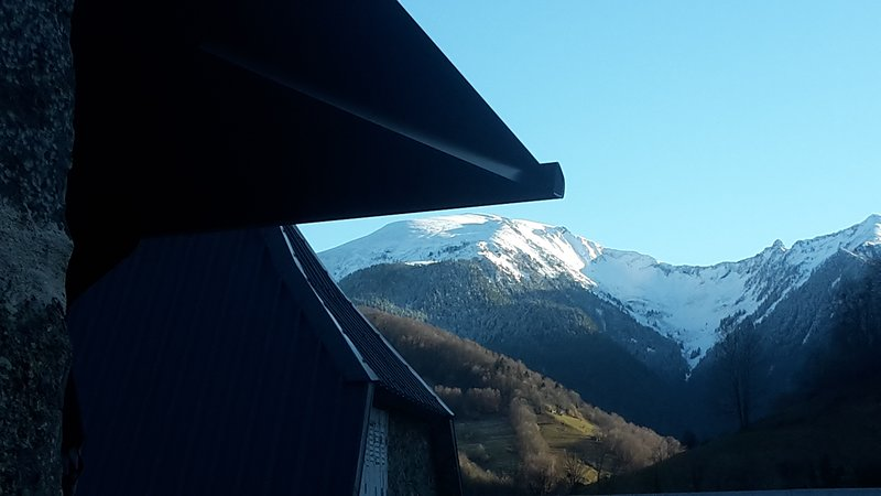 Amazing chalet with mountain view, holiday rental in Sentein