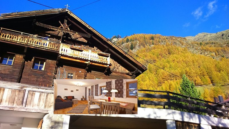 Chalet s'Tyrolia - Tradition trifft Moderne, holiday rental in Zwieselstein