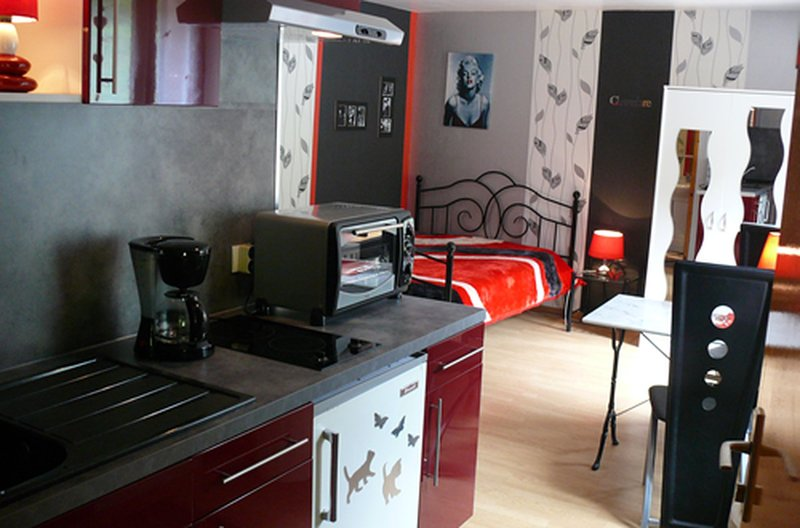 Acconat- Studio 2 personnes, holiday rental in Belval