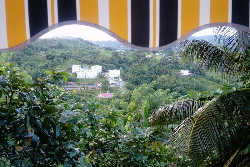 Beautiful house with mountain view, location de vacances à Saint-Esprit