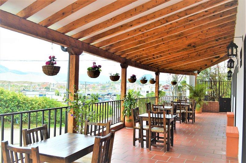 Relajate en Balcones de la Casona Hostel, aluguéis de temporada em Guatape
