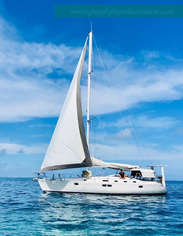 Pacific Paradise Cruises na Polinésia Francesa