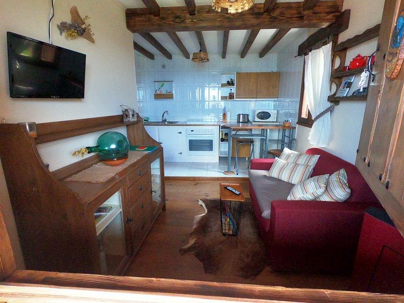 Casa Miruella, Ñeros de Següencu, location de vacances à Sobrefoz