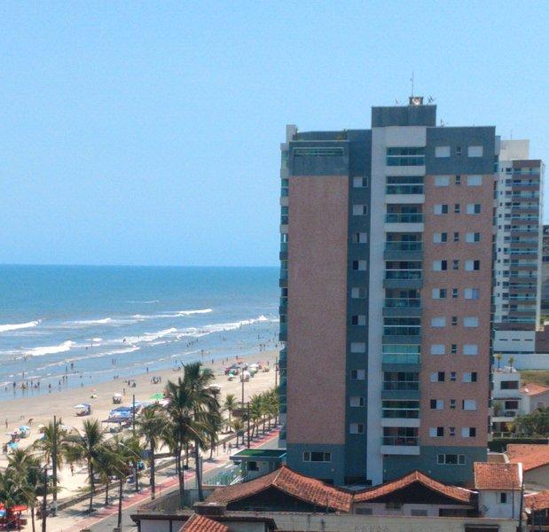 Apartamento para temporada na praia, holiday rental in Mongagua