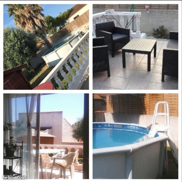 Nice house with swimming-pool, holiday rental in Bessan