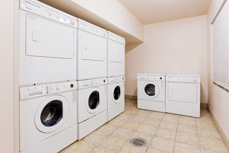Do your laundry on site!