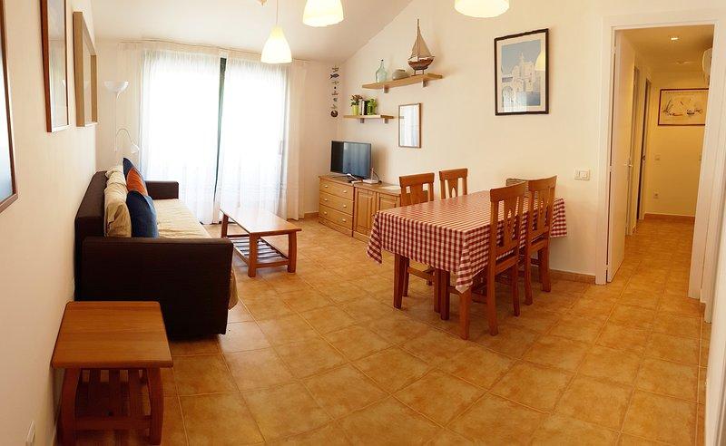 (T3.3) CONFORT A 4 MINUTOS DE LA PLAYA, alquiler de vacaciones en Cadaqués