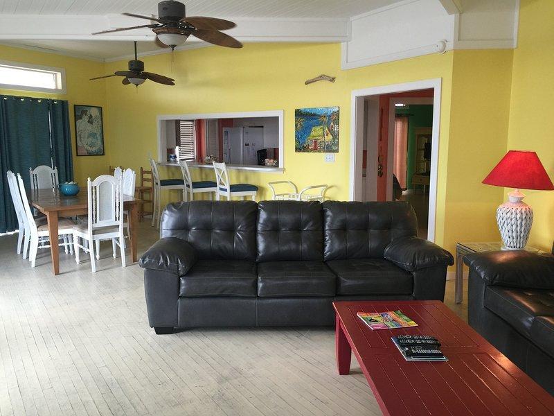 Mobili, divano, camera, soggiorno, interni
