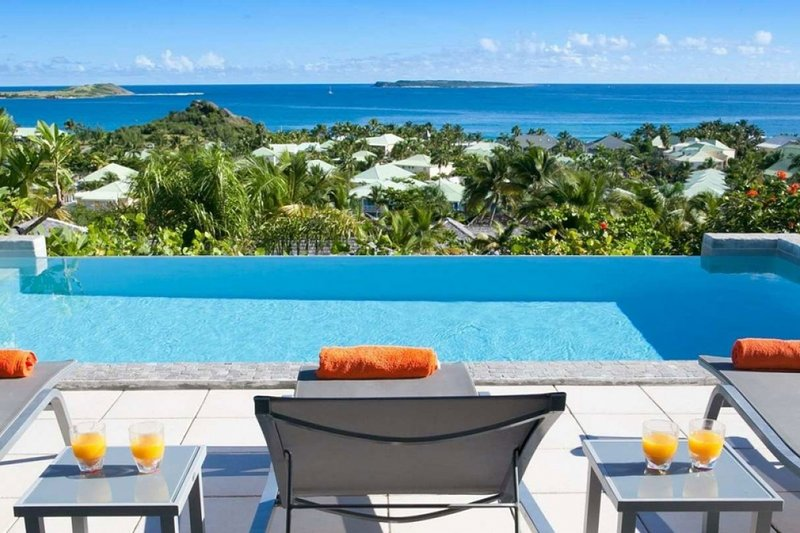 Villa La Sarabande | Ocean View - Located in Fabulous Orient Bay with Private, holiday rental in Orient Bay