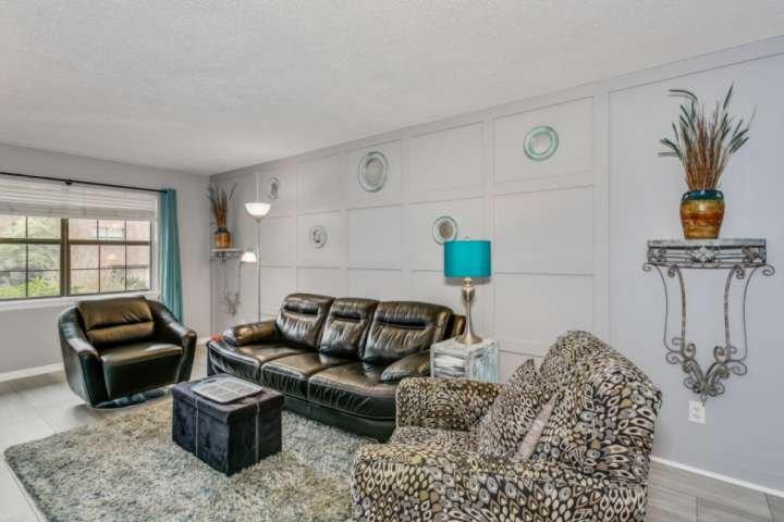 A living room anyone would enjoy
