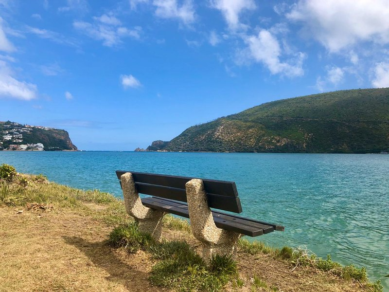 Benches are dotted along the shoreline for sun-downers or fishing.