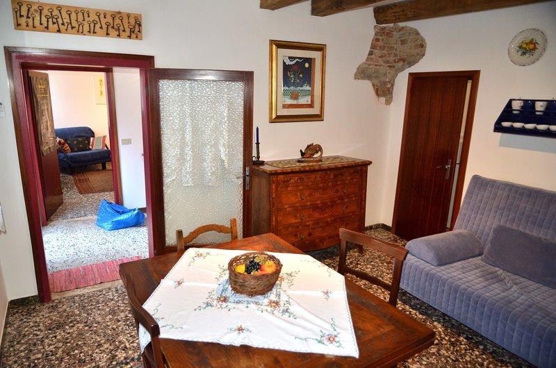 Alla Cerva: tradizionale casa veneta vista fiume, vacation rental in Trebaseleghe