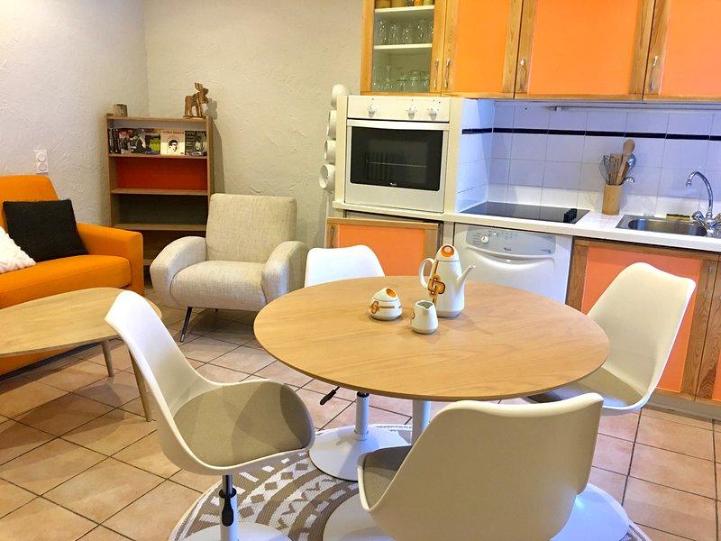 Le goléon · Appartement 4 personnes au pied des pistes, location de vacances à Valloire