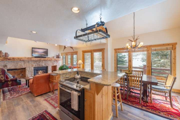 Updated Kitchen with Stainless Steel Appliances, Breakfast Bar, Great counter Space for prepping meals with family and friends.