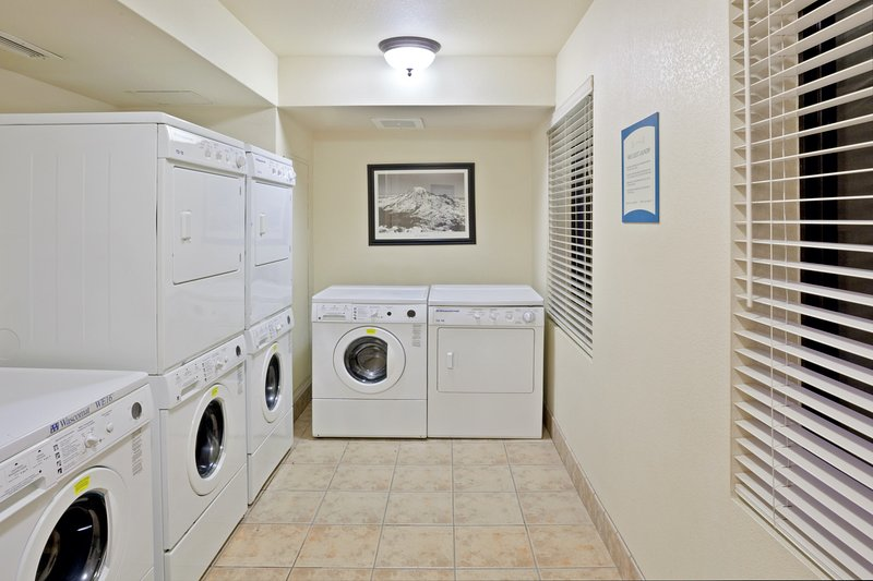 Do your laundry with ease using the on-site facilities.