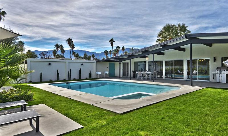 The Aqua House – semesterbostad i Palm Springs