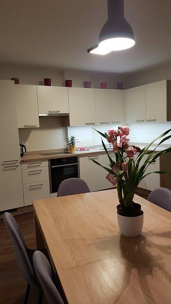 Neue, große Wohnung direkt im Zentrum, Ferienwohnung in Kastelruth