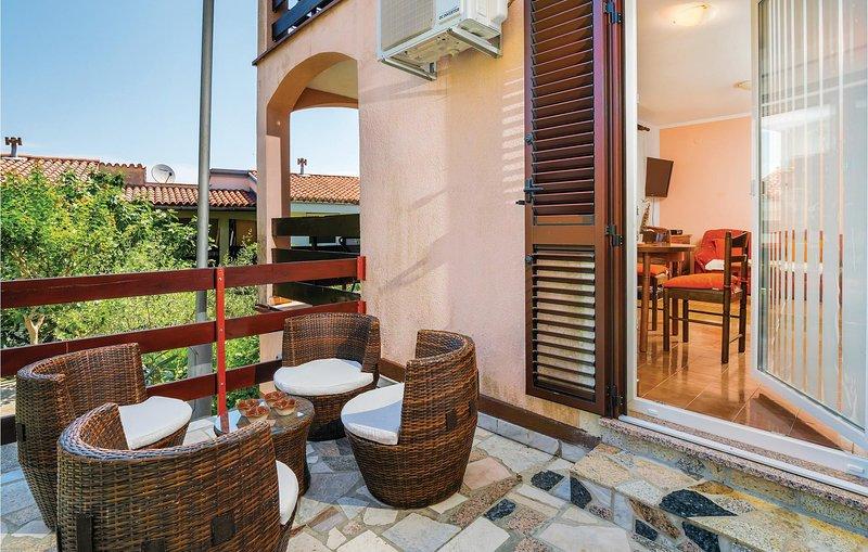 Amazing home in Labin-Ravni with 1 Bedrooms (CIK034), holiday rental in Ravni