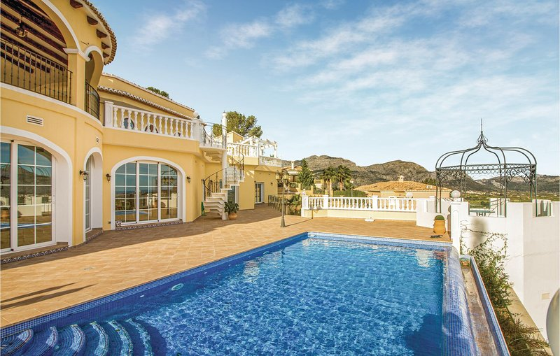 Amazing home in Trullent with 3 Bedrooms (EBL965), holiday rental in Sagra
