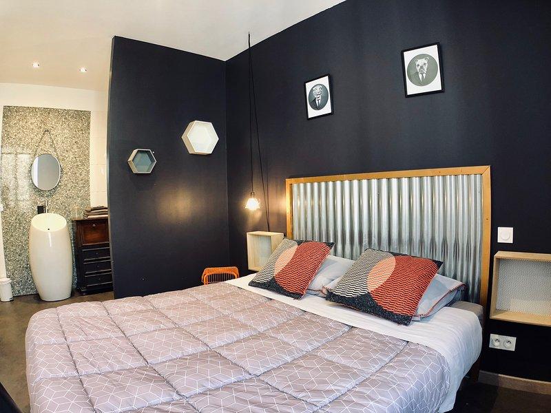 Le Mistral Blanc, résidence de vacance appartement 3A à Tarascon, location de vacances à Tarascon