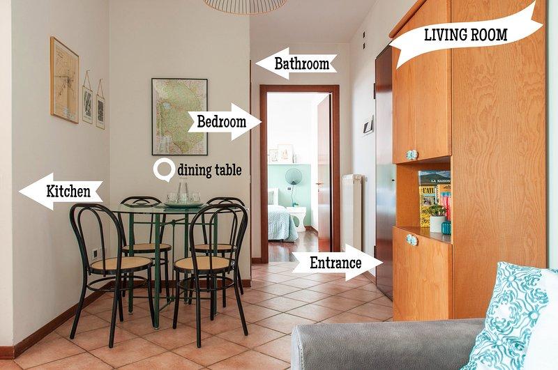 Apartment in Perugia near Train Station and Minimetro, location de vacances à Pila
