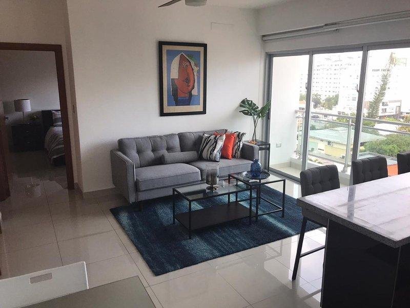 Armonia 17 · *NEW* 1br Piantini *gym  wifi*Downtown* SDQRentals, vacation rental in Santo Domingo