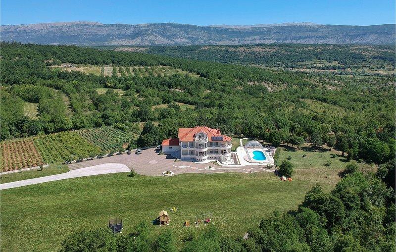 Vakantie in een luxe villa (CDM907), holiday rental in Vrlika